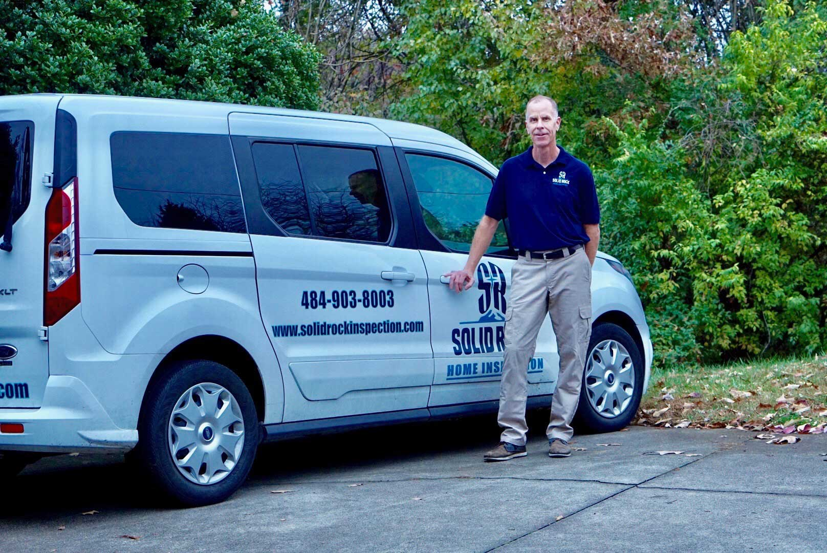 Dan by Solid Rock Home Inspection Car